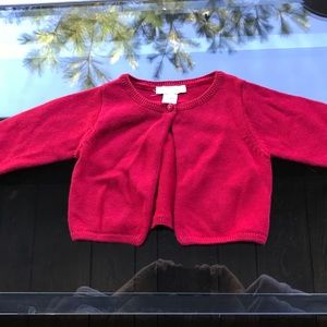 06m Jacadi Cardigan Sweater Like New